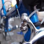 【あわや惨事】手作りブレーキ金具の損傷について