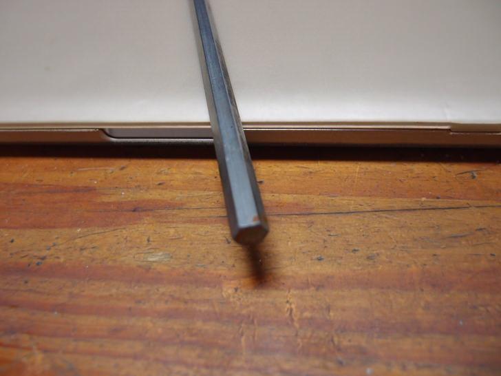 ステンレスの六角棒