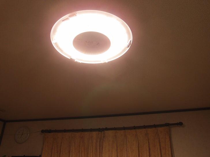 スリム蛍光灯からLEDへリプレース