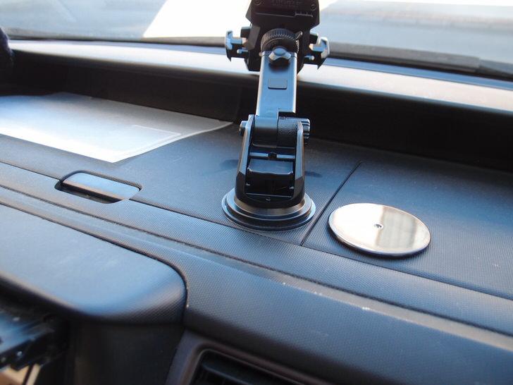 SmartTap 車載ホルダー EasyOneTouch2クルマに貼る