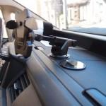 アームが伸ばせて画面を近くにできる車載ホルダー/クルマの中でもマルチディスプレイっぽく楽しめる【PR】