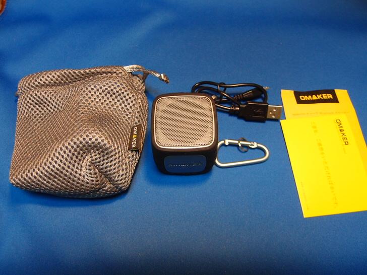 OMAKERの小型Bluetoothスピーカー