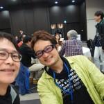 【感激体験】三菱電機の霧ヶ峰ブランド体験会で毎日更新記録更新中のむねさだブログのむねさださんと隣りあわせ