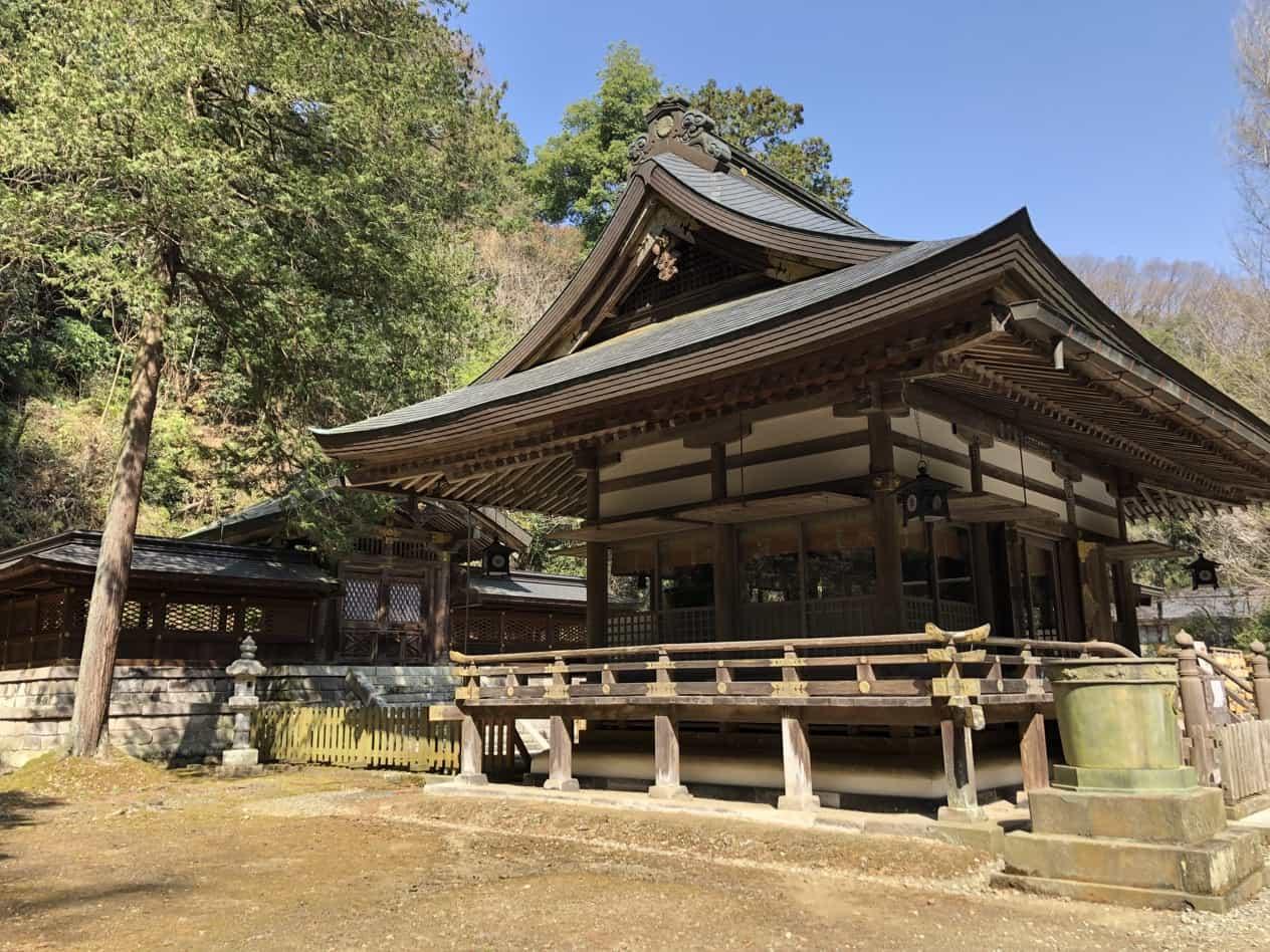 金鑚神社本殿
