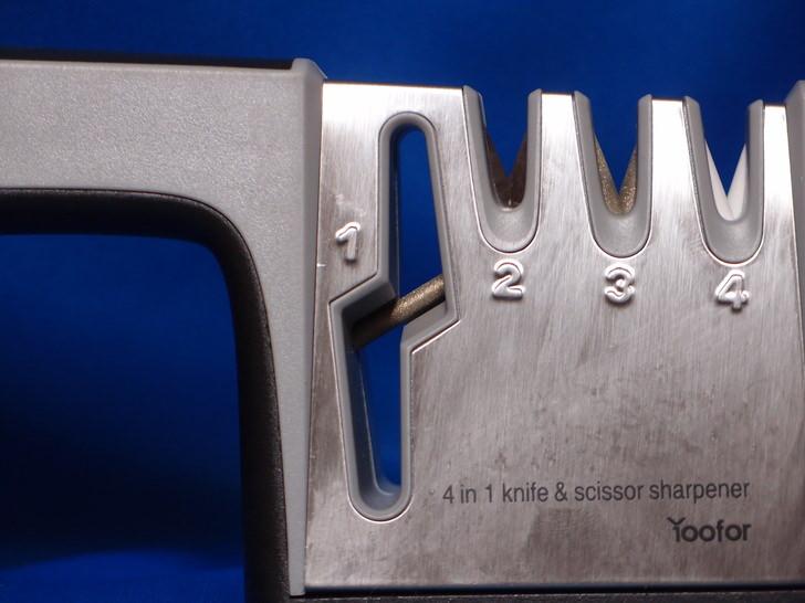 Yooforの包丁研ぎ器