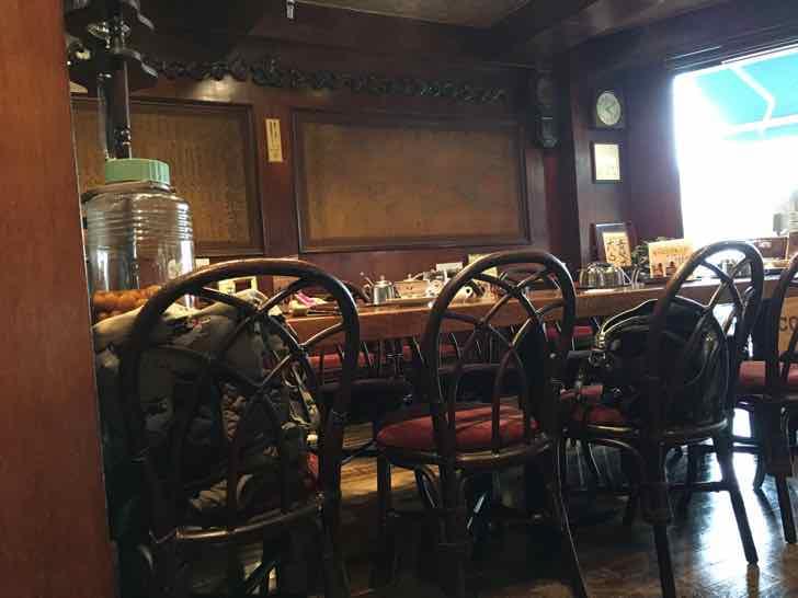 北浦和駅そばの越コーヒー