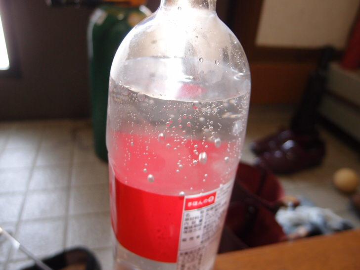 ミドボンで炭酸水
