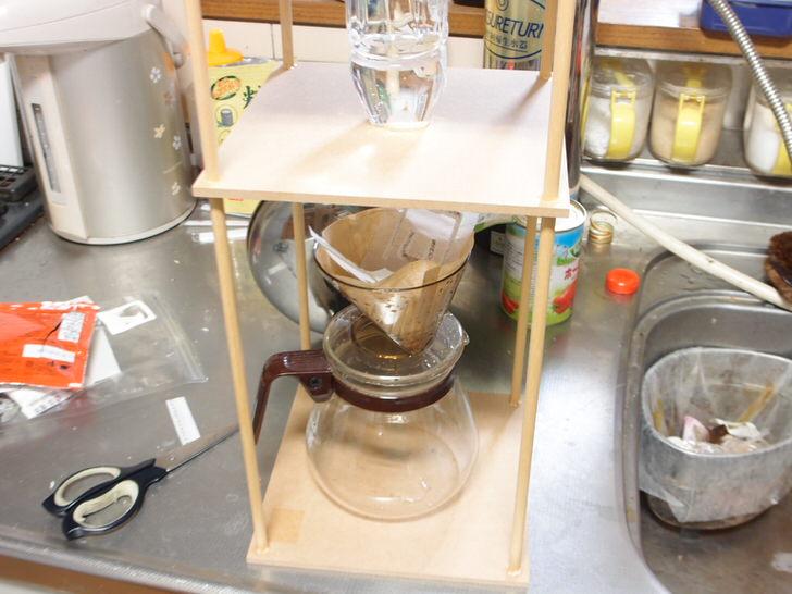 水出しコーヒー抽出櫓