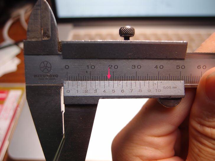 0.2mmと謳われているガラスフィルムだが実際は