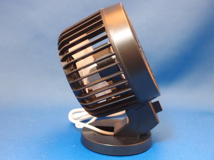 Geekway USB扇風機 卓上USB扇風機 ミニ扇風機 二枚羽 2段階風量切り替え 30度角調節可能 静音