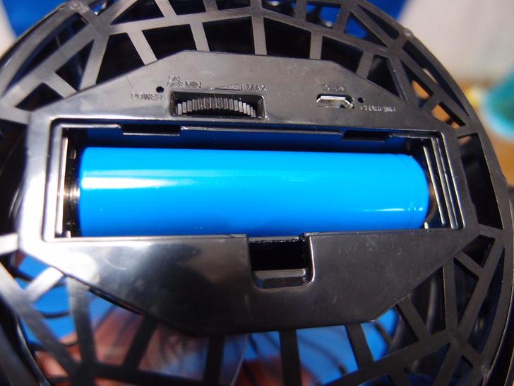 クリップ型USB扇風機充電式