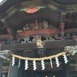 秩父道の駅龍勢会館と秩父神社