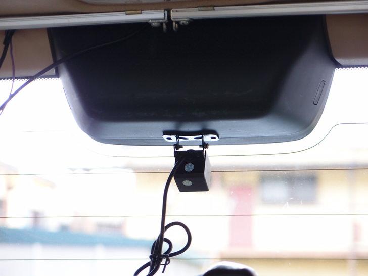 後方カメラ付きルームミラーモニター型ドライブレコーダー