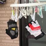 サイクリング用グローブを買って初めて洗濯する