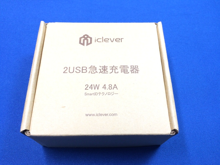iClever 2ポート USB充電器