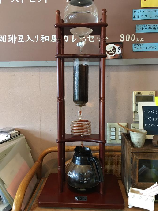 東松山珈琲ばかの水出しコーヒー