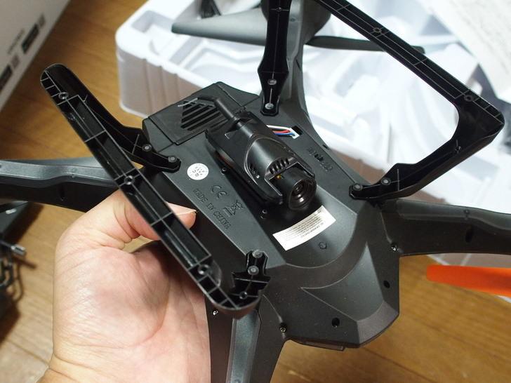 DBPOWER WiFi FPV ドローン HDカメラ付き リアルタイム伝送 空撮 ラジコンヘリ 重力センサー/ヘッドレスムード搭載 2.4GHz 4CH 6軸ジャイロ U842
