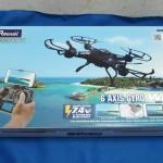 ドローンF183WHは空撮動画、静止画、宙返り、スマホで操縦など必要機能を備えた機種【PR】【追記複数】