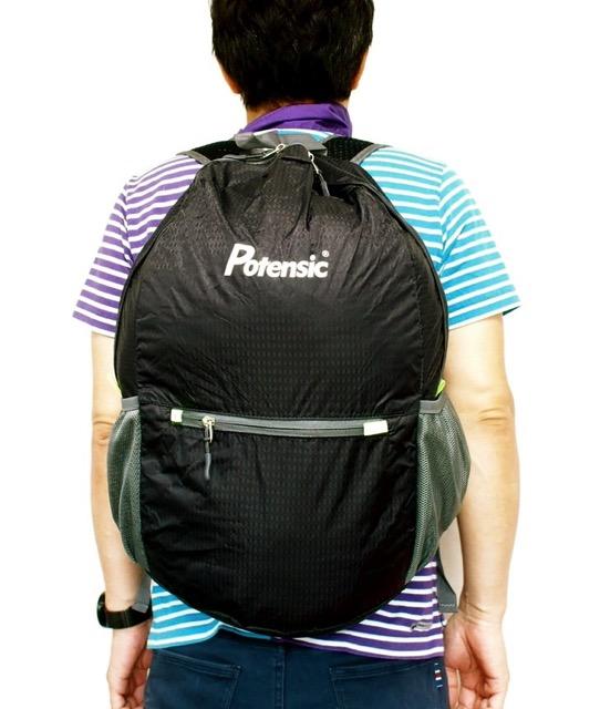 ポテンシック(Potensic) 軽量 折りたたみ リュックサック 旅行/登山/アウトドア 携帯バック 大容量 リュック