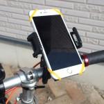 ハンドル取り付けに工具不要のスマホホルダーは旅行先でレンタルサイクルを利用するときに便利かも【PR】