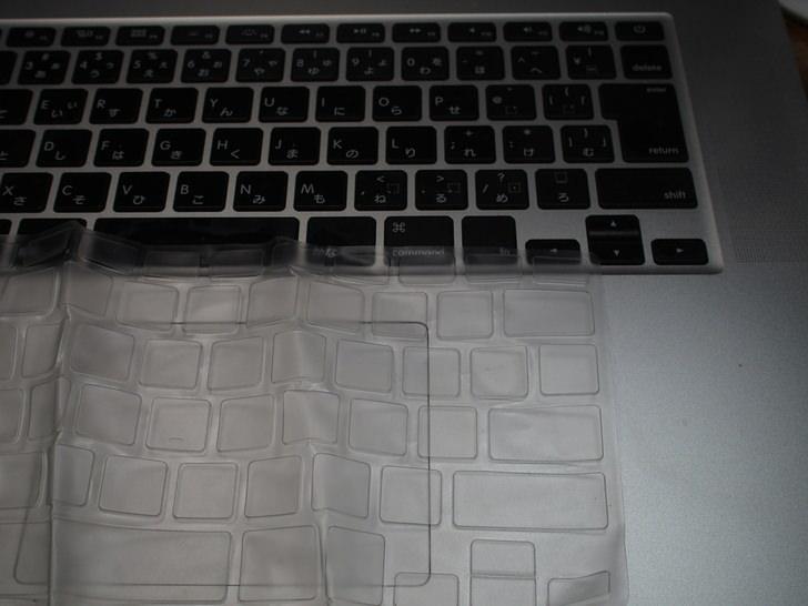 eBayで頼んだMac用キーボードカバー