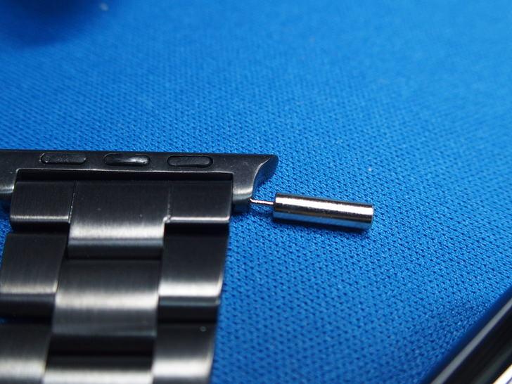 Amazonで買ったAppleWatch用金属ベルト