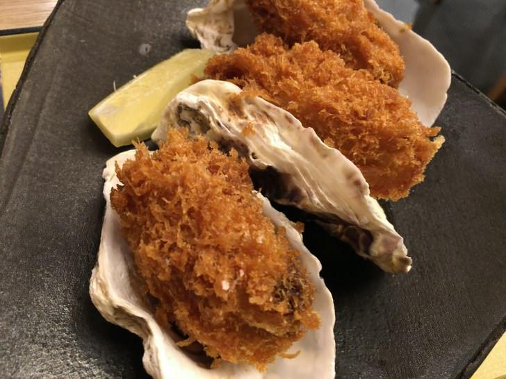 金沢フォーラス内シロクの牡蠣三昧