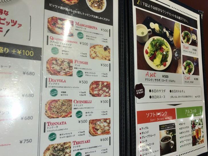 金沢NAPOLIのピザセット