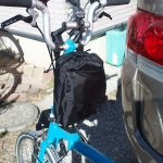 初売キャンペーンで当たったブロンプトン輪行袋の名はかるが〜るだけど自転車入れなくても重いw