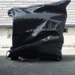 【難易度(中級)】使用禁止と疑われているブロンプトンの輪行カバーをハイブリッドにして化けられるようにしてみた#ブロンプトン