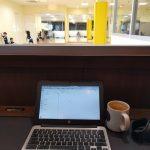 タリーズコーヒーでパソコン作業してみたけど目の前幼稚園(?)で聞こえるのはジジイの歓声wなかなかのカオス