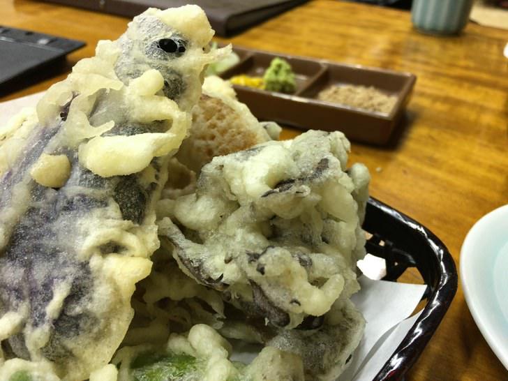大澤屋の釜揚げうどんセットについている天ぷら