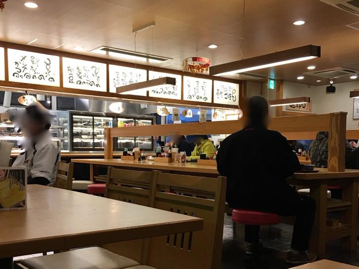 上柴食堂で惣菜だけの食事