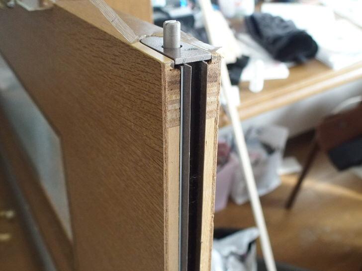 ドア下のボトムタイトナー修理