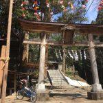 寄居町にある姥宮神社(とめみやじんじゃ)に居るのは狛犬ではなくヌルっとしたアレだった