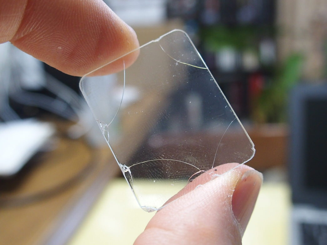 AppleWatch用液晶保護ガラス