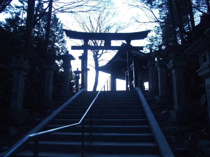 三峯神社から見る雲海