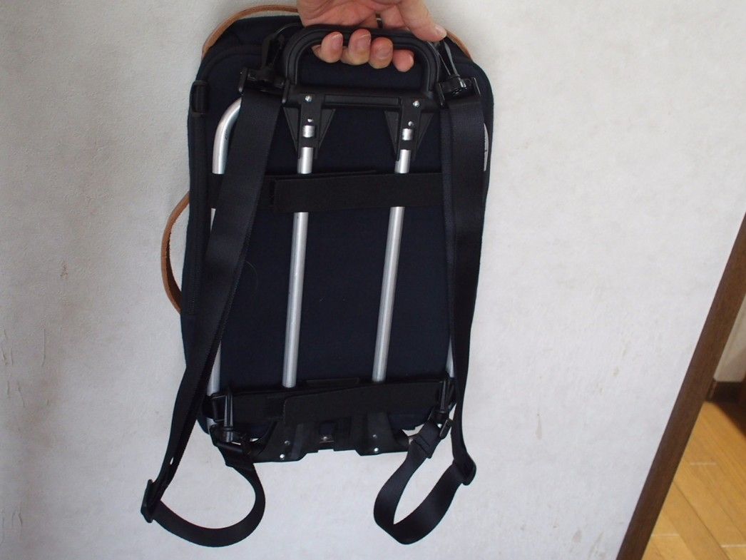 13インチタイプのバッグに合わせてキャリアフレーム自作
