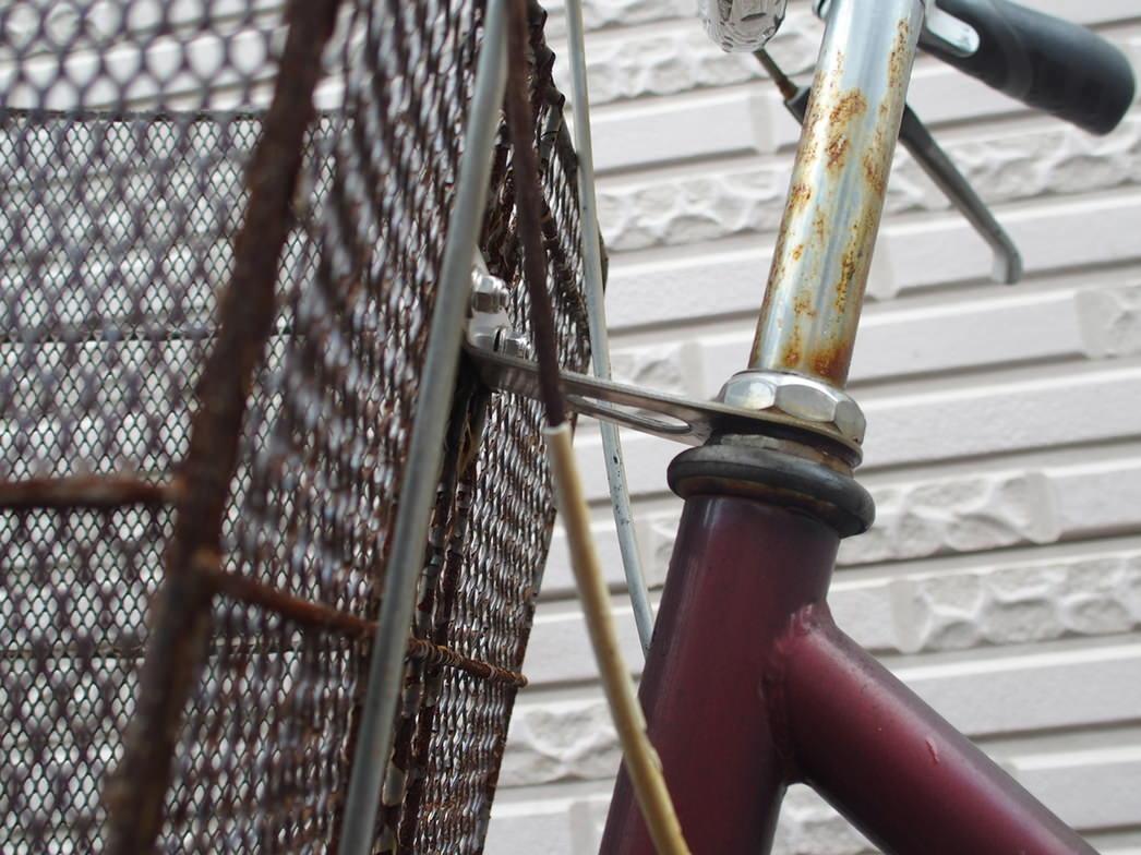 ママチャリの内装三段シフトケーブルの補修