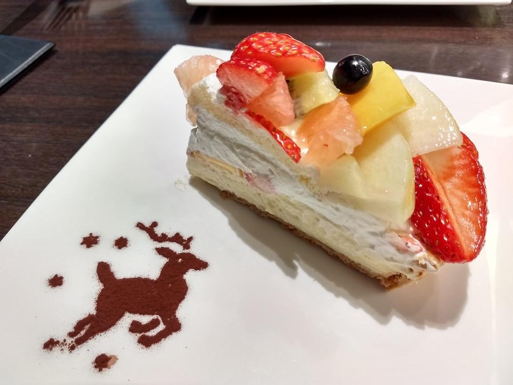 軽井沢カフェコムサのケーキ
