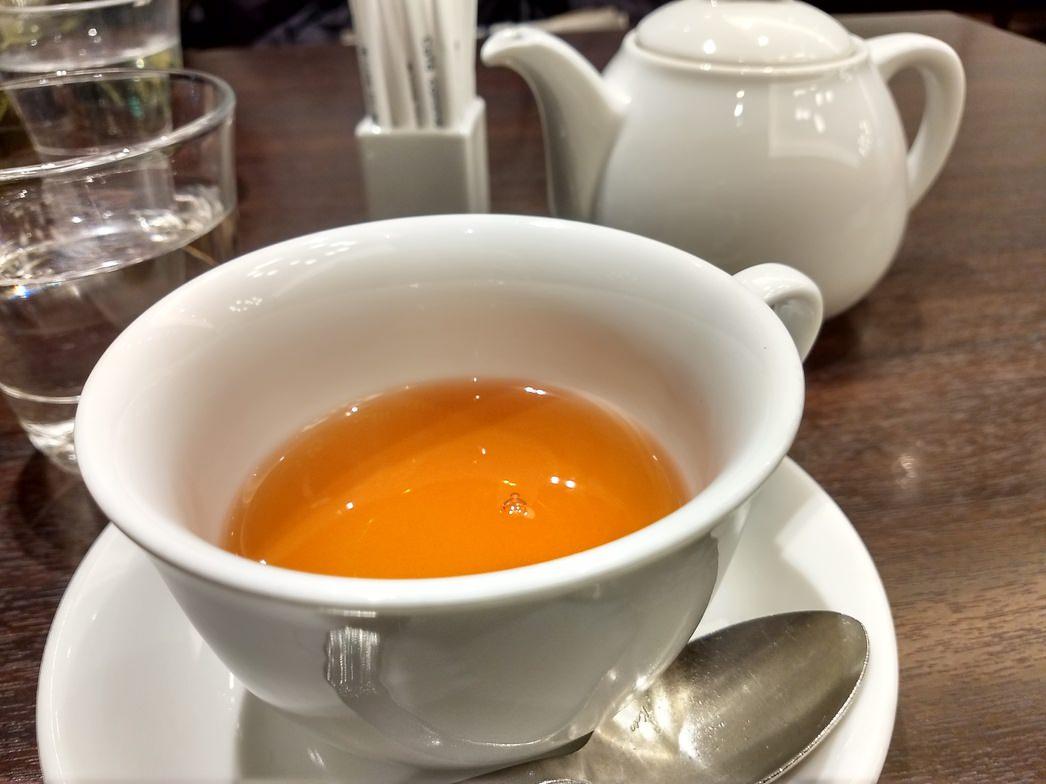 軽井沢カフェコムサの紅茶