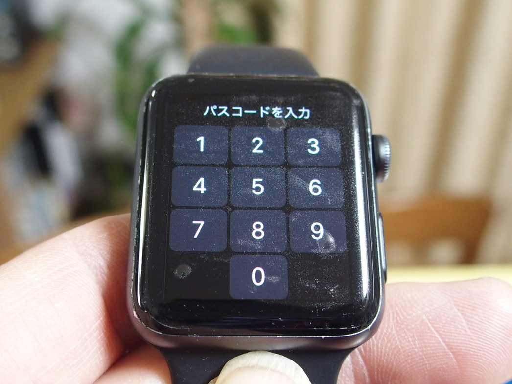AppleWatchの表面ガラス保護