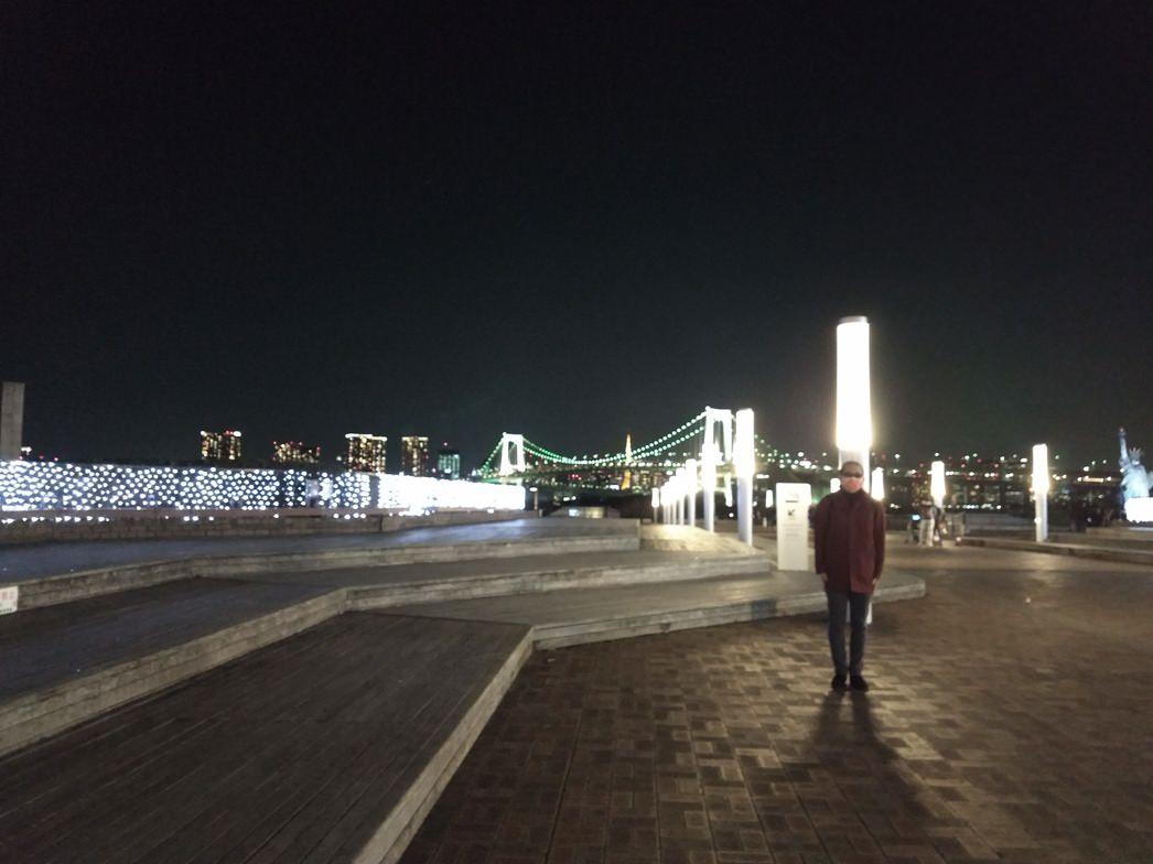 アクアシティから見る夜景