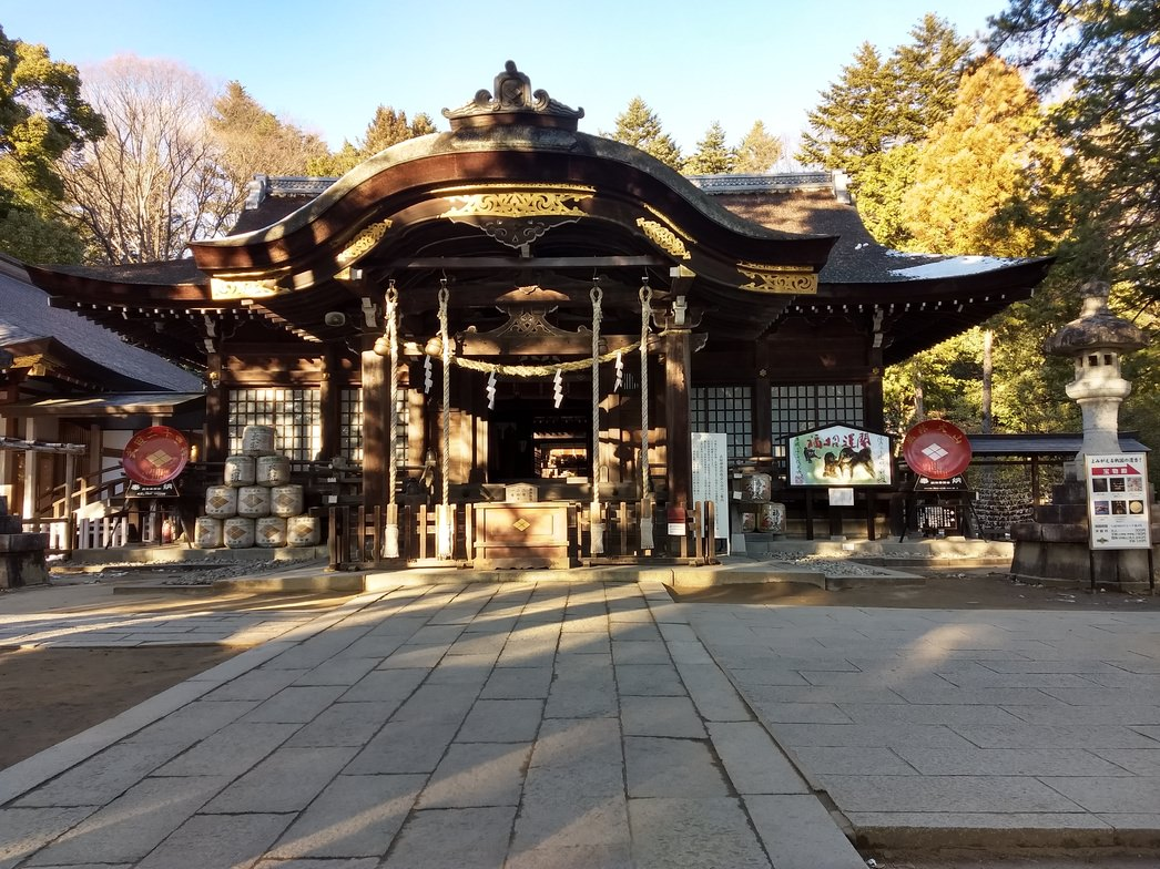 甲府市武田神社
