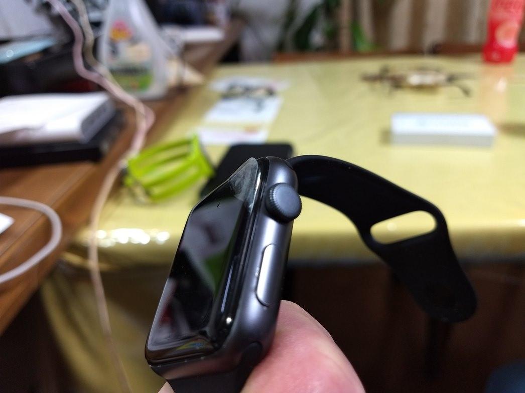 AppleWatchにはやはりガラスフィルム