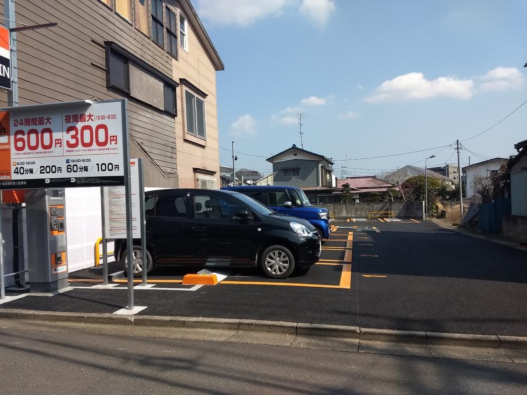 成田山新勝寺そばの駐車場について