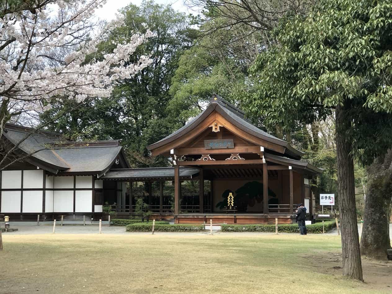 甲斐の武田神社