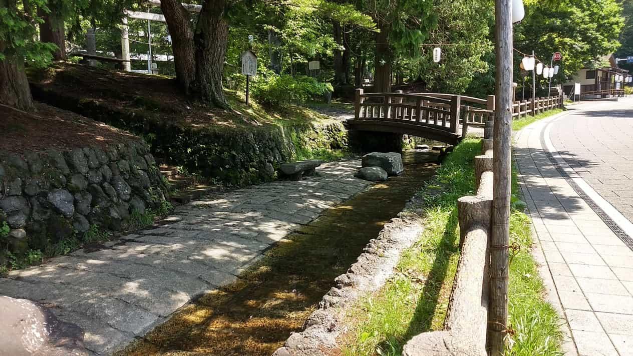 軽井沢追分宿