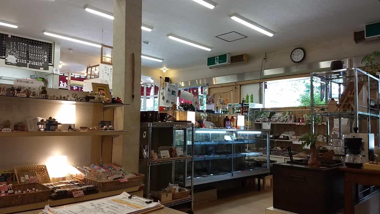 鹿教湯温泉おきな菓子舗