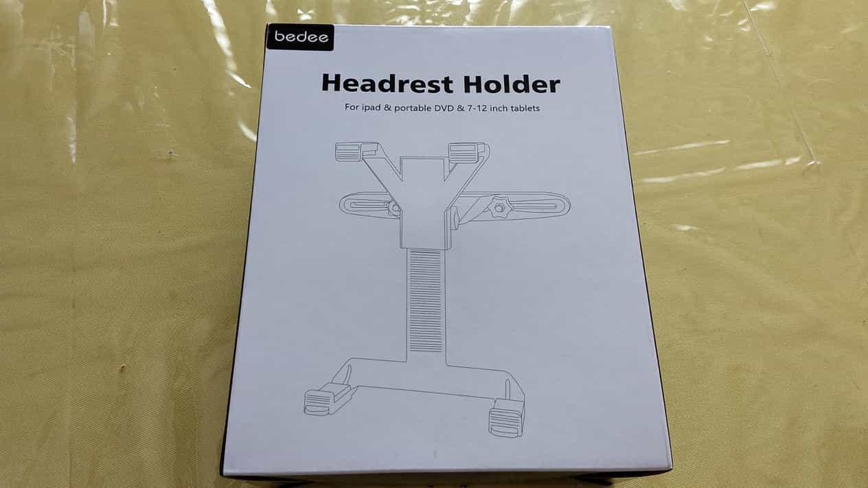 タブレット用ヘッドレストホルダー